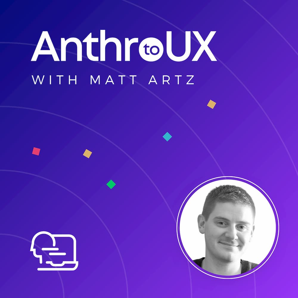 Anthro to UX Podcast Cover Art