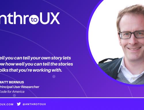 Matt Bernius on Anthro to UX