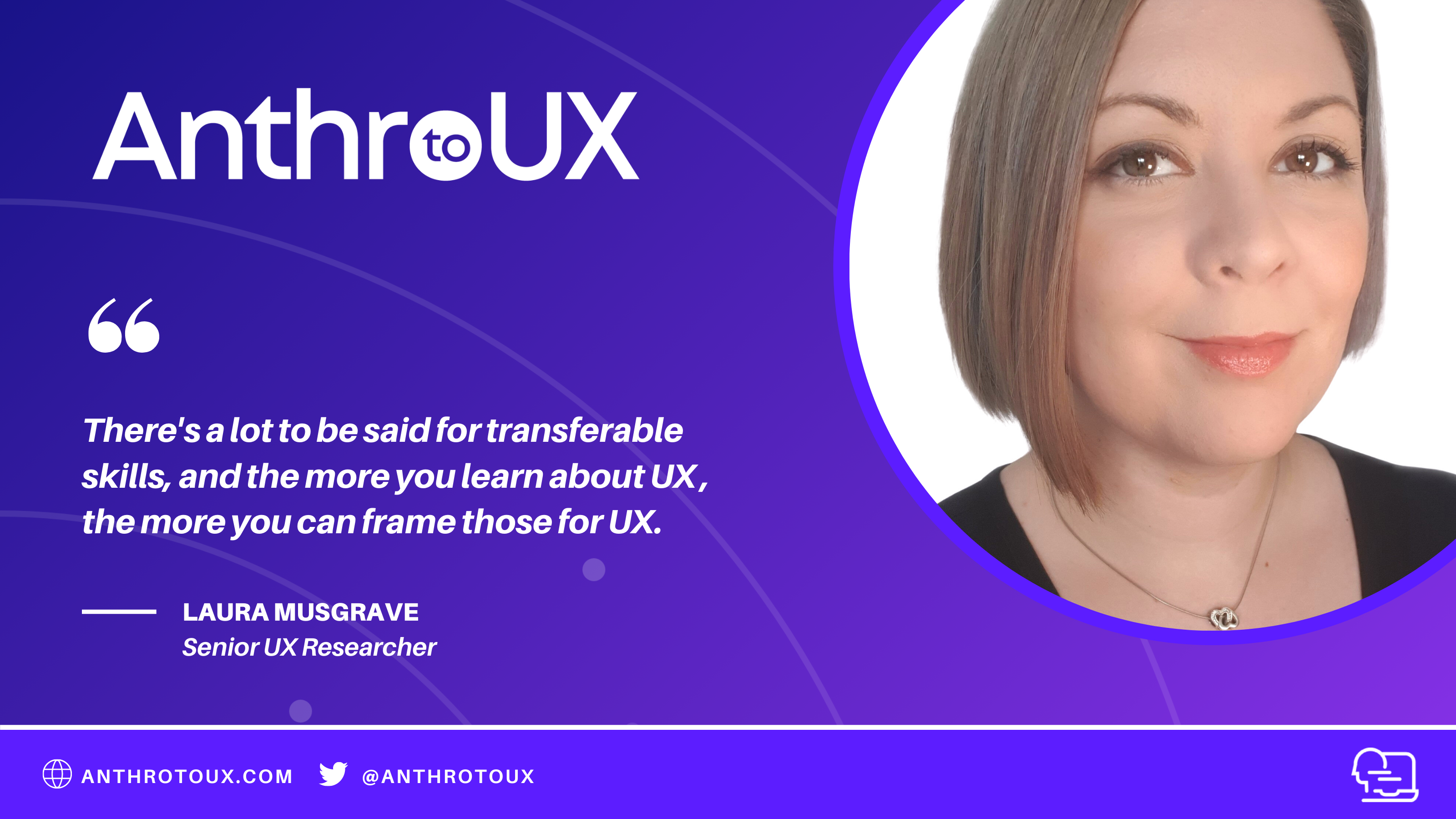 Laura Musgrave on Anthro to UX with Matt Artz