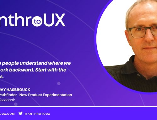 Jay Hasbrouck on Anthro to UX