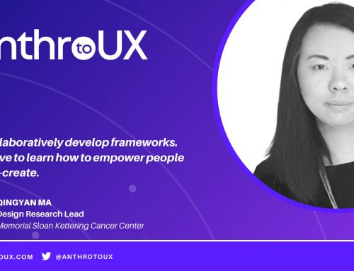 Qingyan Ma on Anthro to UX