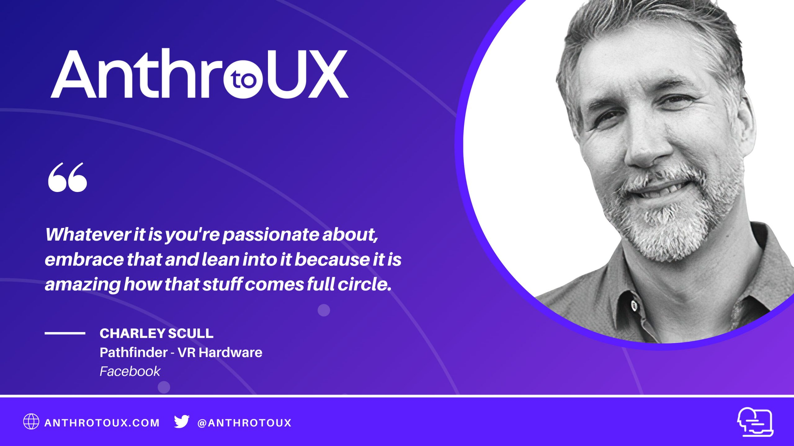 Charley Scull on Anthro to UX Podcast with Matt Artz